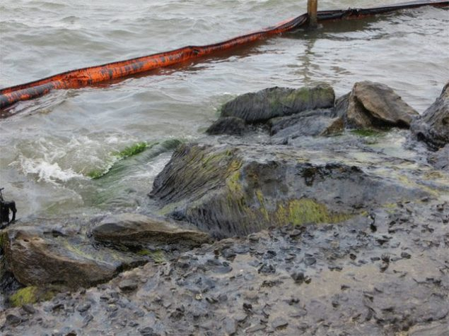 houston ship channel oil spill