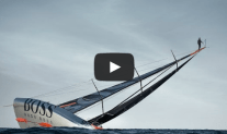 VIDEO: Stuntman Runs Up 30-Meter Mast of Moving Yacht… Literally