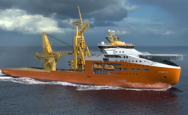 vard solstad offshore construction vessel