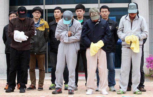 sewol crew arrest