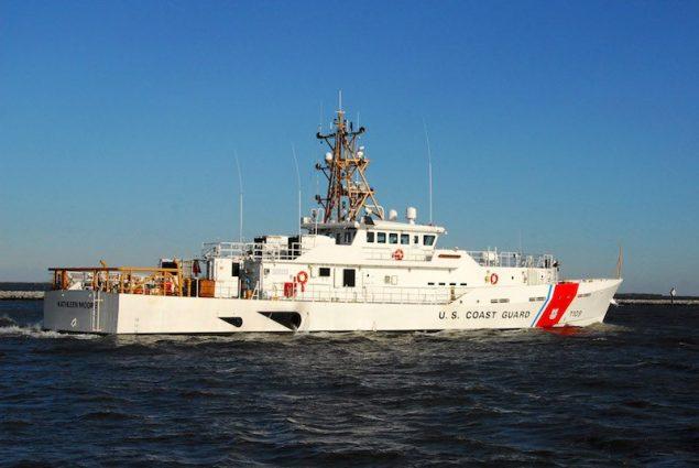 USCGC Kathleen Moore. Photo courtesy Bollinger Shipyards