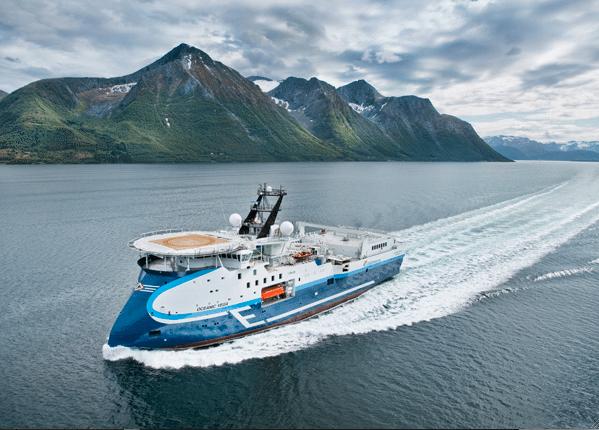 oceanic vega cgg veritas sx120 seismic vessel