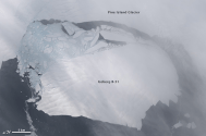 Scientists Tracking One of World's Largest Known Icebergs