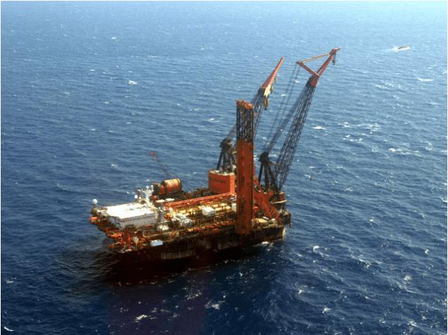 Heerema Marine Contractors Deepwater Construction Vessel Balder
