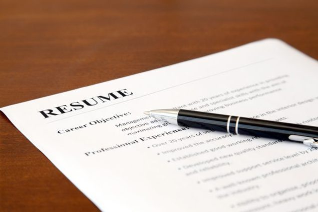 resume curriculum vitae writing