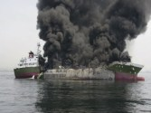 VIDEO: Oil Tanker Sinks Following Explosion Off Japan – Update