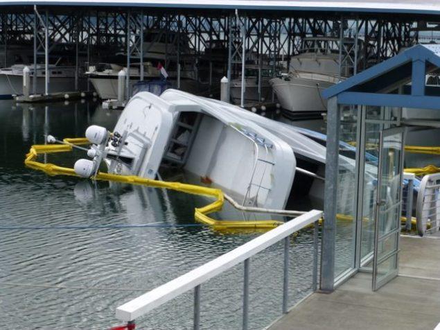 baden sinking northern marine