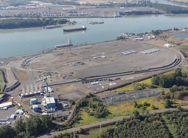 port of vancouver rail loop