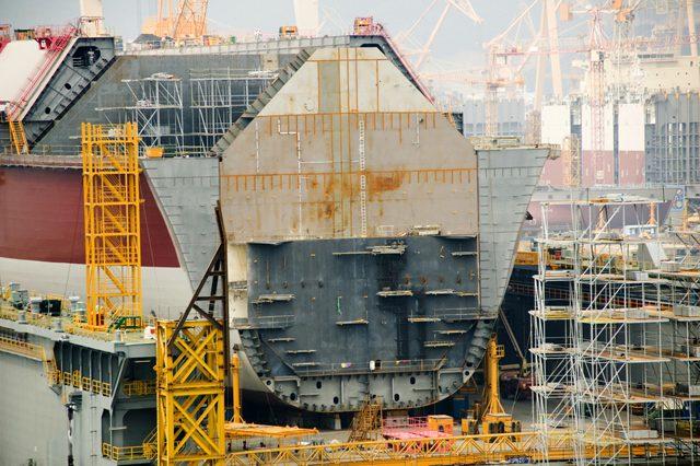 q-max lng carrier shipbuilding
