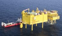 High Tech Yellow Boxes Transmit Germany's Wind Power to Shore