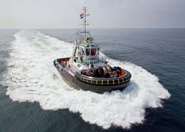 The Damen ASD Tug 2810 Hybrid, Bernardus.