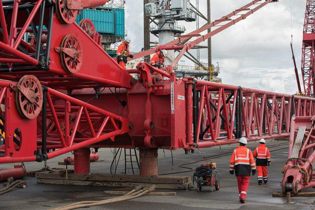 rowan viking jackup rig Shiprepair Vlissingen