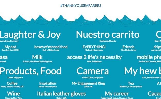Thank You Seafarers
