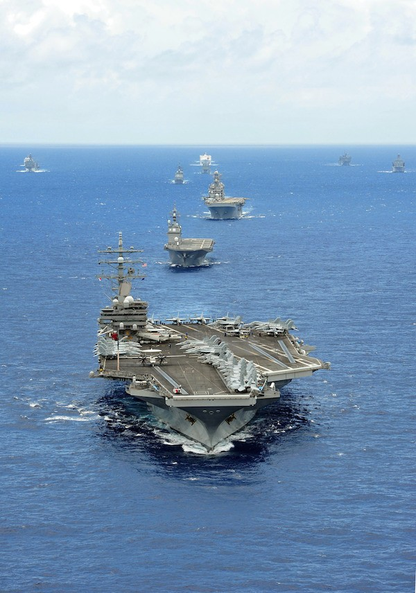 uss ronald reagan us navy warships sea power