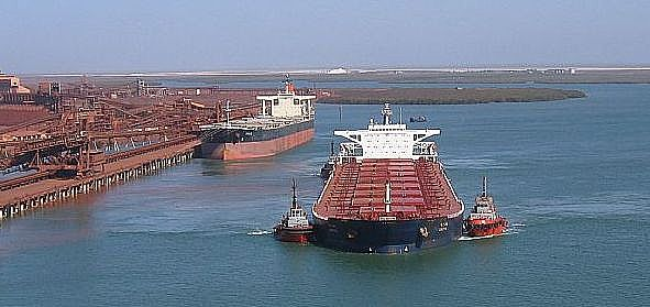 port hedland capesize bulk carrier