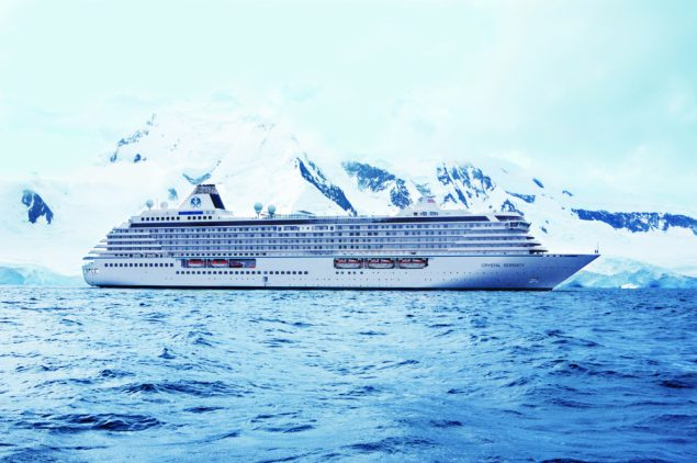 Crystal Serenity courtesy Crystal Cruises