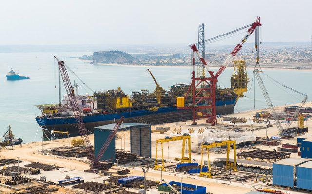 N'Goma FPSO Paenal shipyard Angola