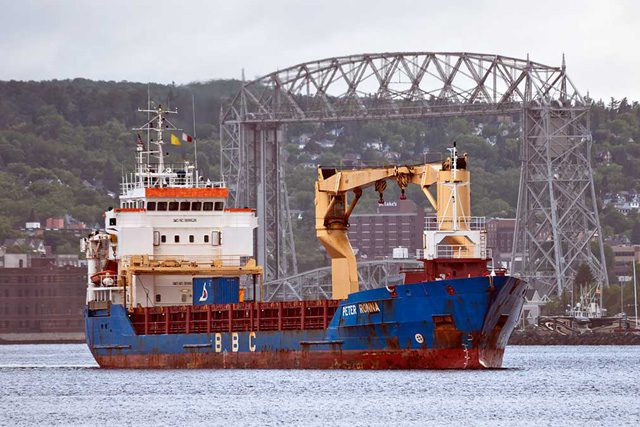 peter roenna bbc chartering duluth