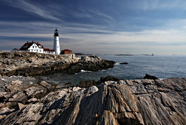 portland head light lighthouse maine