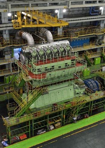 wartsila 2-stroke diesel engine