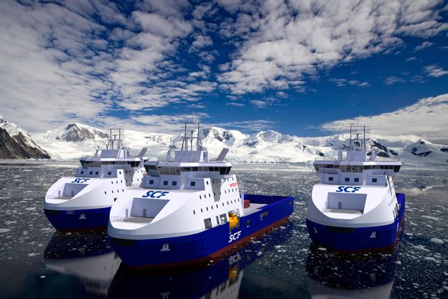 Sovcomflot icebreaker offshore standby vessels