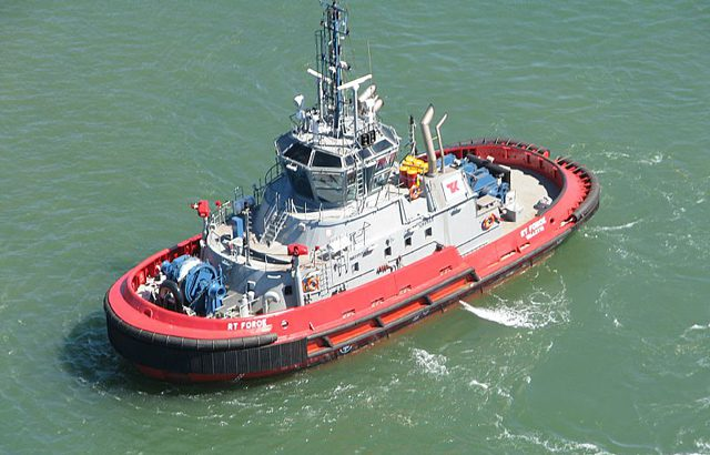 rt force tugboat teekay port hedland