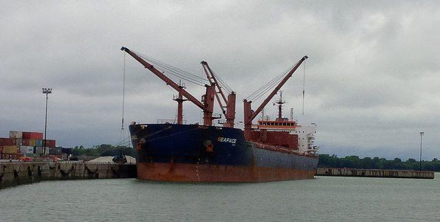 mv seapace bulk carrier