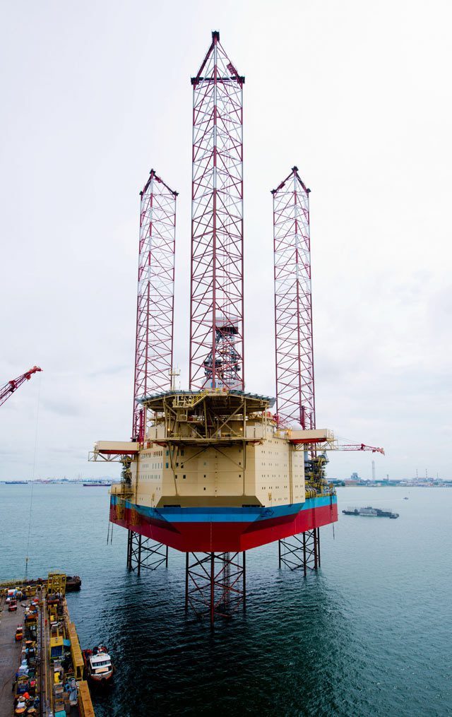 XLE2 maersk drilling jackup rig