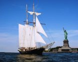 Tall Ship Tour Runs Aground Near Statue of Liberty