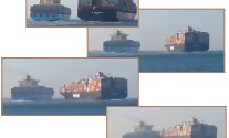 Colombo Express maersk collision