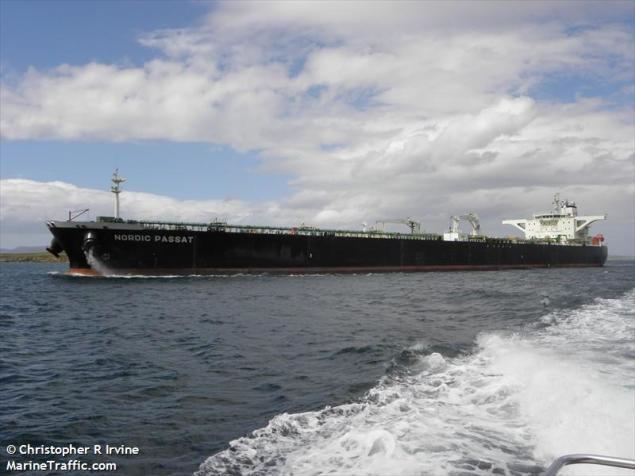 MT Nordic Passat (c) MarineTraffic.com/