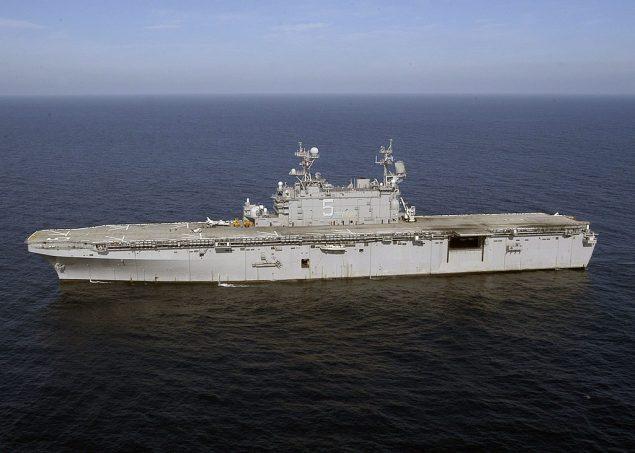 USS Peleliu file photo courtesy U.S. Navy/Wikimedia Commons