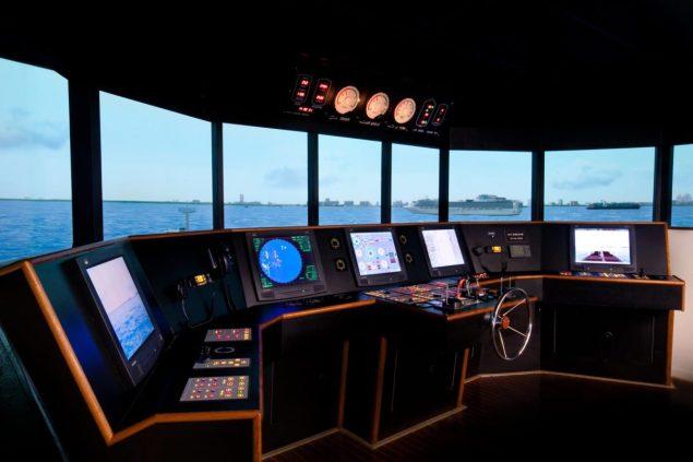 Simulator training at MPT's Fort Lauderdale Campus