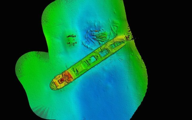 CSIRO Geophysical Survey and Mapping - Lake Illawarra shipwreck 3-1