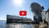 Watch: Ingalls Shipbuilding Launches 10th Amphibious Transport Dock – John P. Murtha (LPD 26)