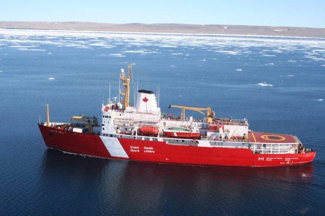 CCGS Louis S. St-Laurent. Photo credit: Canadian Coast Guard