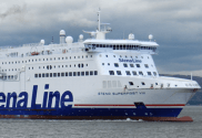 Stena Line Ferry Breaks Moorings in Belfast With Passengers On Board