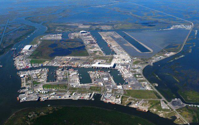 Port Fourchon (c) Greater Lafourche Port Commission