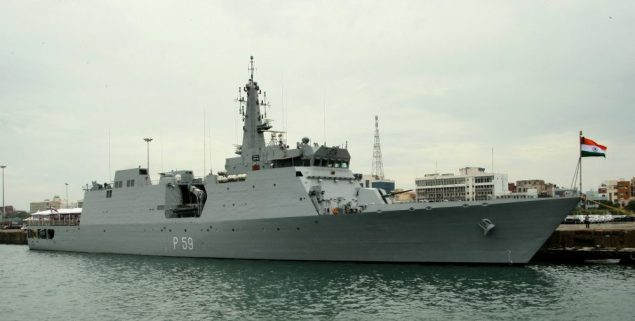 INS Sumitra file photo. Credit: Wikimedia Commons