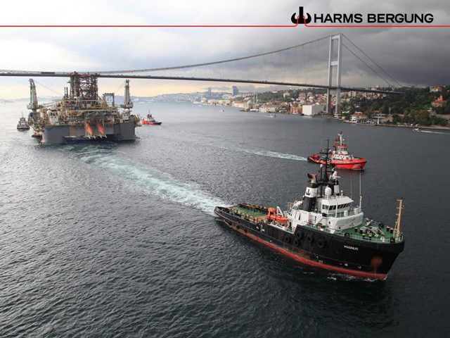 magnus towing ddII bosphorus strait