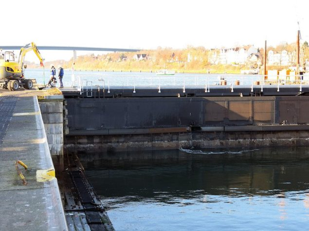Photo courtesy Waterways Shipping Office Holtenau