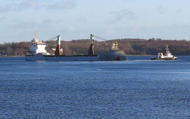 MV Vectis Eagle.  Photo courtesy Waterways Shipping Office Holtenau