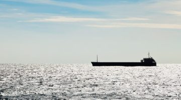 black ship silhouette