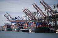 Congestion Slowly Easing at U.S. West Coast Ports