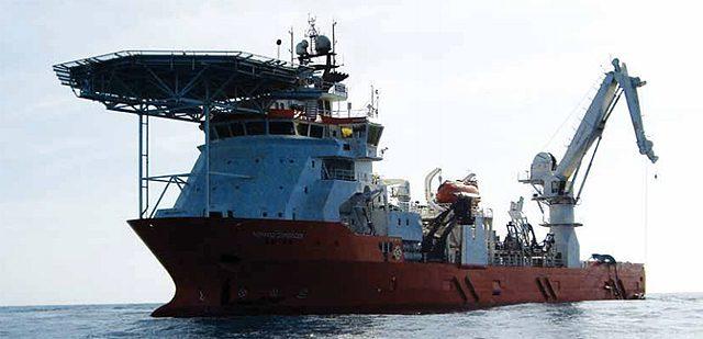 normand commander ship diving vessel