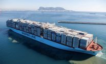 Maersk Mckinney Moller containership