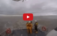 Video: RNLI Helicopter Rescue Training Marriage Proposal