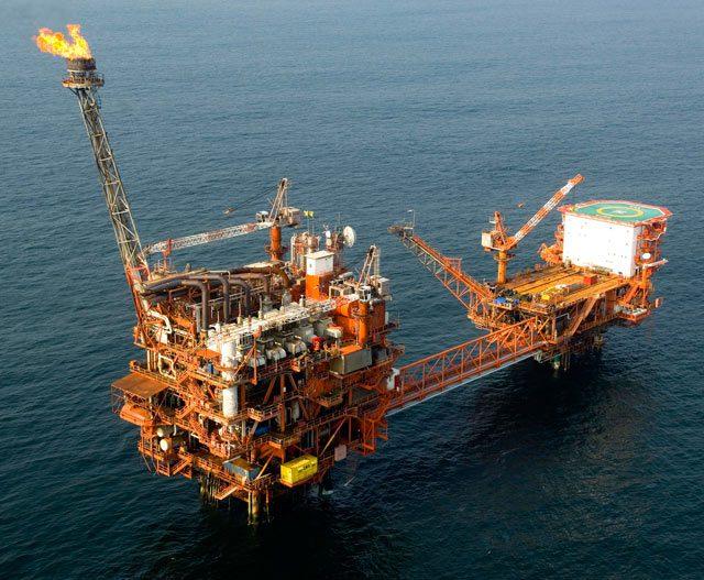 eni offshore oil platform congo