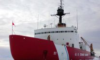 The U.S. Coast Guard heavy icebreaker Polar Star. File Photo: U.S. Coast Guard