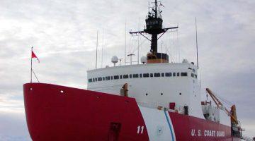 The U.S. Coast Guard heavy icebreaker Polar Star. File Photo: U.S. Coast Guard